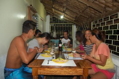The best part of our Great Bicol Food Trip was sharing our sumptuous meal with friends.
