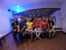 Bloggers of different interests tried out the food at Tambayan Sa Kanto.