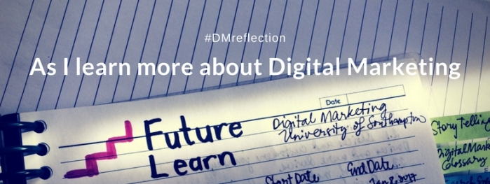 as I learn more about Digital Marketing